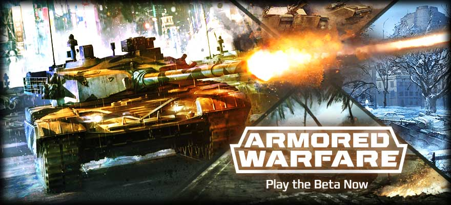 Join the Armored Warfare Open Beta!