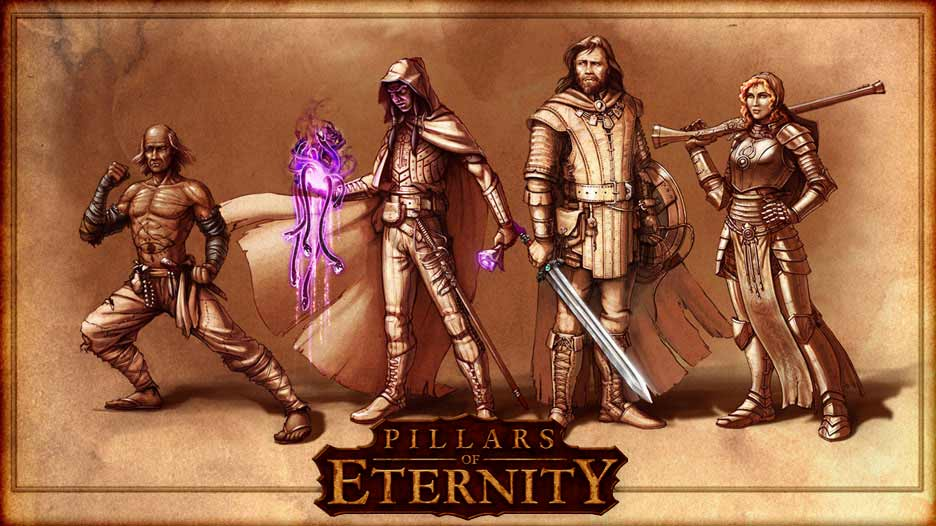Pillars Of Eternity Wallpaper: Companions