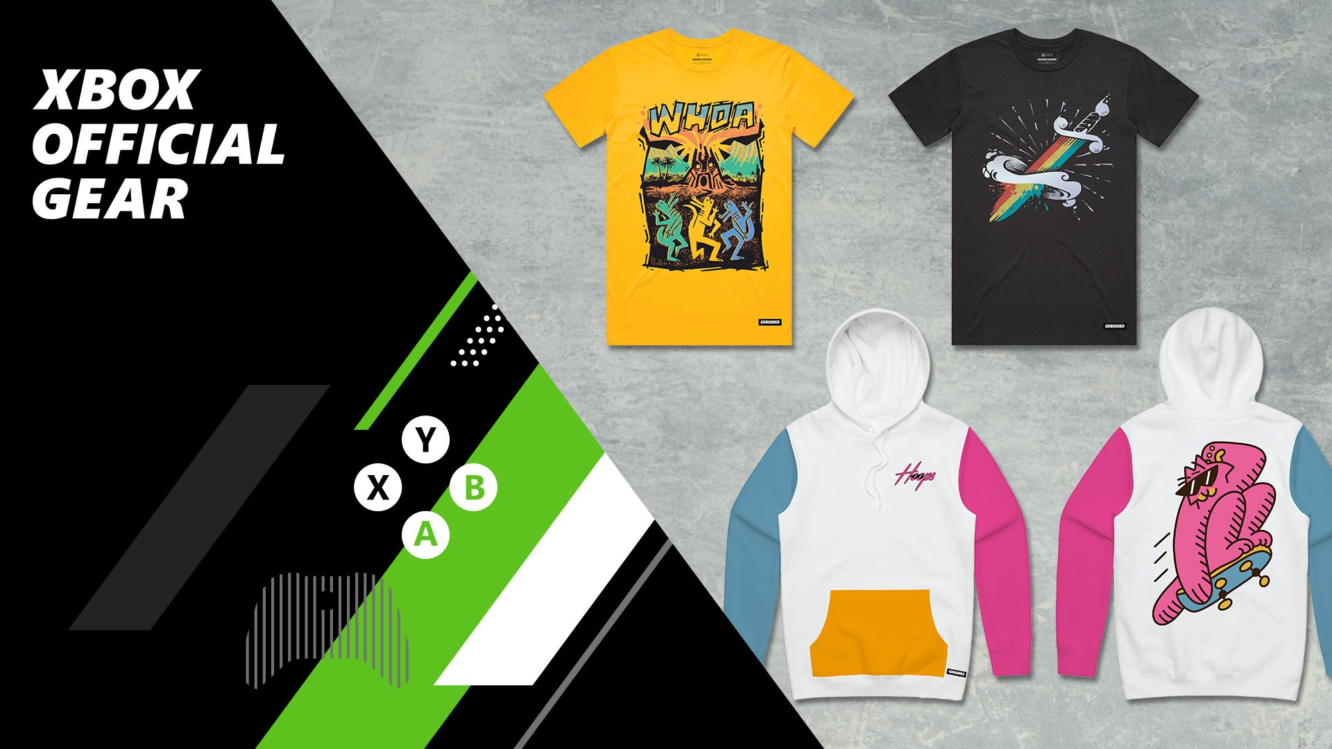 Grounded Merchandise Available Thumbnail