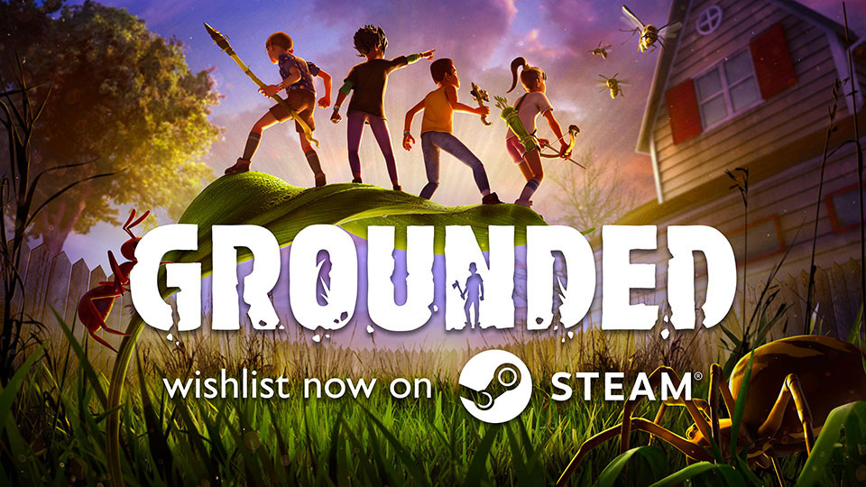Grounded Steam Store Page Now Open Header Image