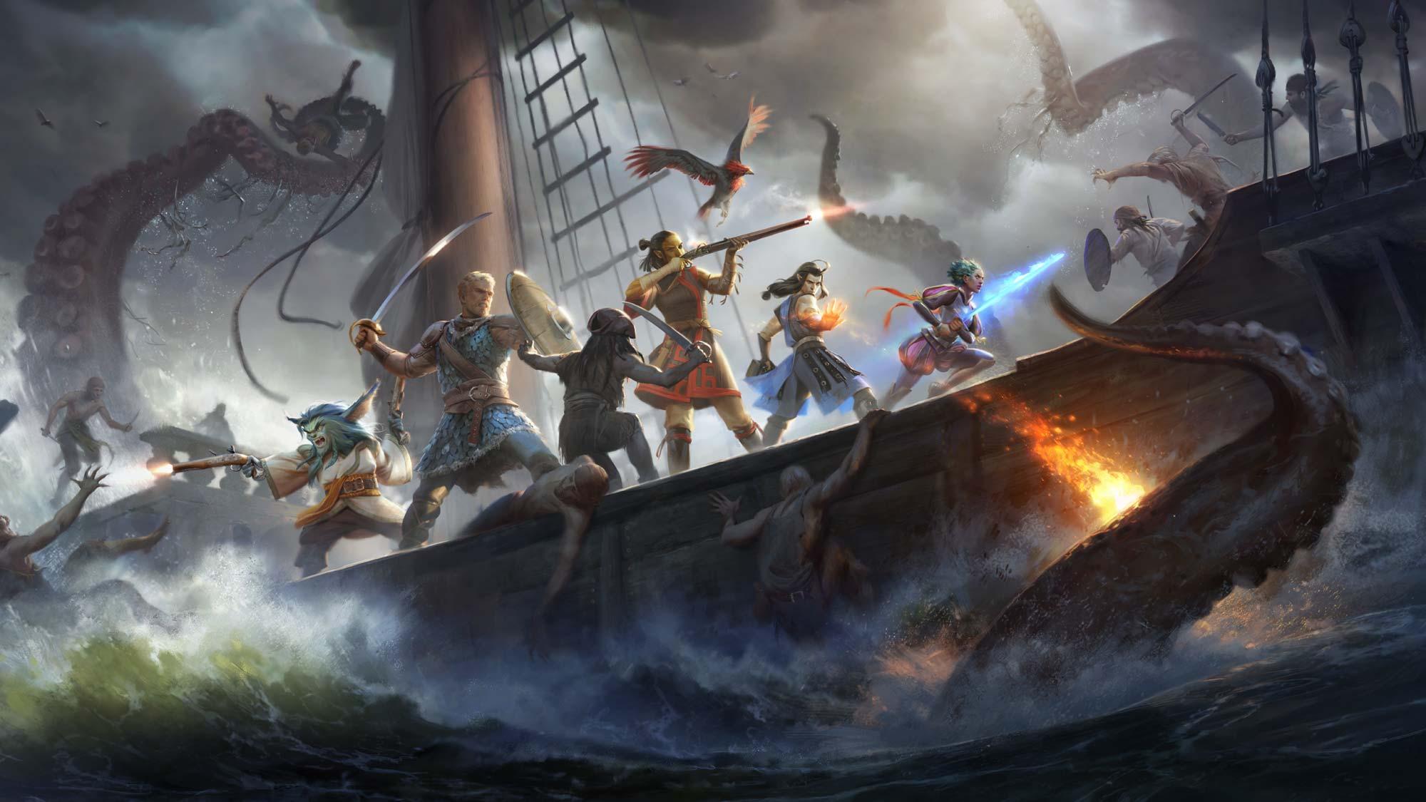 Pillars of Eternity II: Deadfire Header Image