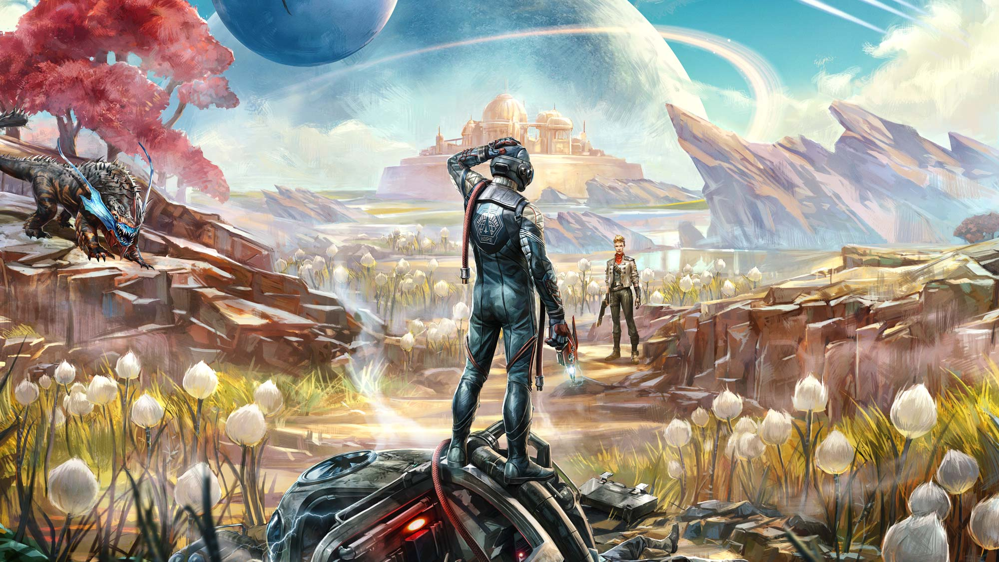 The Outer Worlds Header Image
