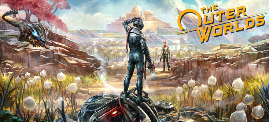 Image result for the outer worlds key art