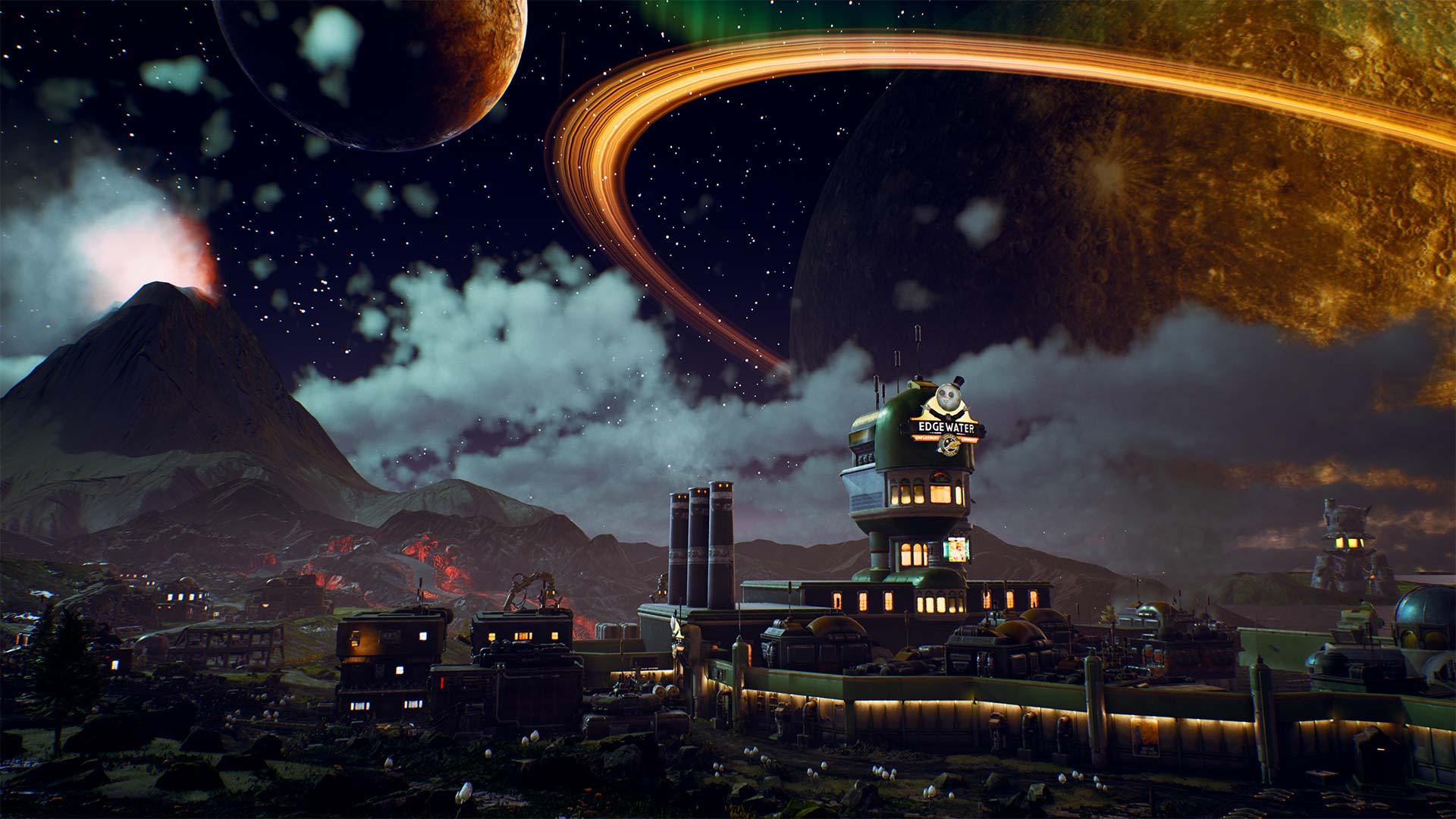 Explore the Halcyon Colony