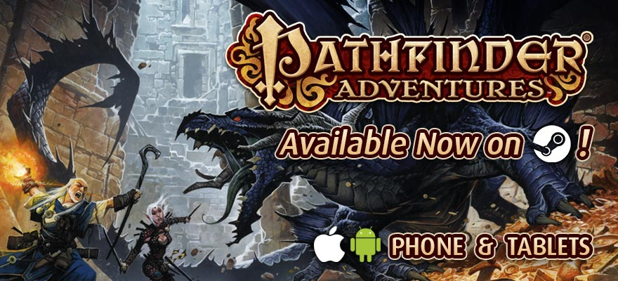Pathfinder Adventures Now Available on Steam!