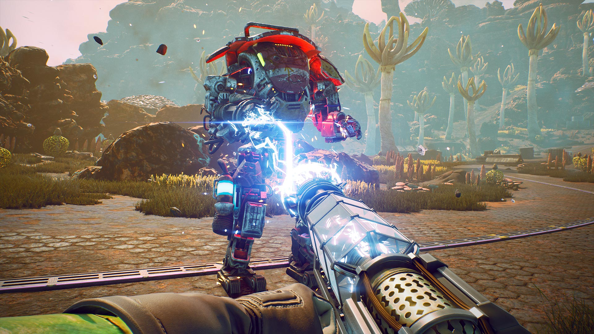 tow presstour shock cannon 1920x1080 - Recensione The Outer Worlds
