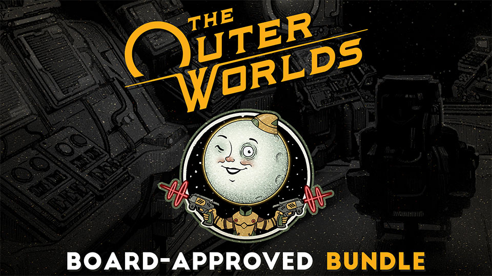 The Outer Worlds: Board-Approved Bundle Available Now Header Image