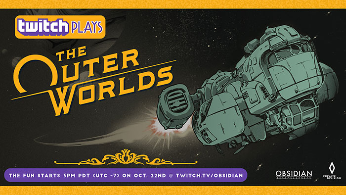 Twitch Plays The Outer Worlds