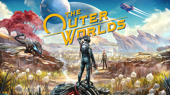 The OuterWorlds Key Art Wallpaper