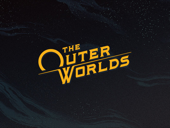 The OuterWorlds Logo Wallpaper